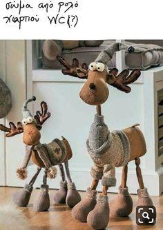 Anna Król - Rusin's 271 media statistics and analytics Christmas Moose, Christmas Sewing, Primitive Christmas, Rustic Christmas, Simple Christmas, Christmas Holidays, Father Christmas, Handmade Christmas, Moose Crafts