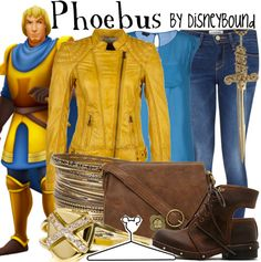 The Hunchback of Notre Dame: Pheobus by Disneybound