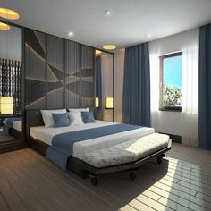 Bedroom, of course is the eventual resort where one finally lands after ending an uphill battle with the tiresome day. Modern Bedroom Design, Master Bedroom Design, Modern Room, Master Bedrooms, Bedroom Sets, Home Decor Bedroom, Bedroom Interiors, Bedroom Furniture, Home Interior