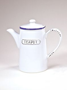 SHABBY CHIC Teapot Teapot, Stoneware, Shabby Chic, Mugs, Shopping, Collection, Design, Cups, Tea Pot