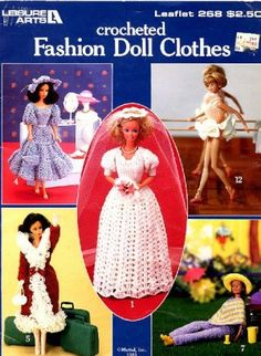 CROCHET PATTERNS FOR BARBIE DOLLS « Free Patterns