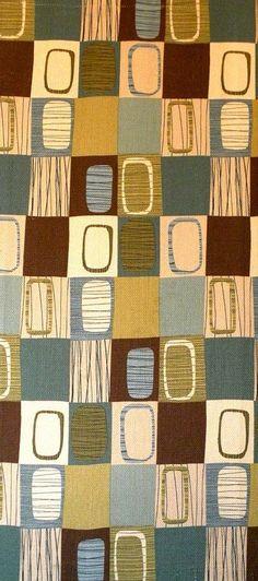 vintage 1950's fabric.