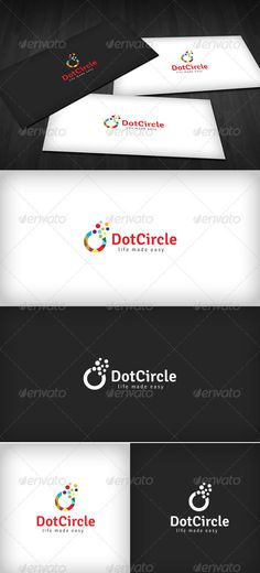 Dot Circle Logo - GraphicRiver Item for Sale