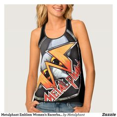 RageOn Lets Rage Palm Candy Premium All Over Print Tank Top