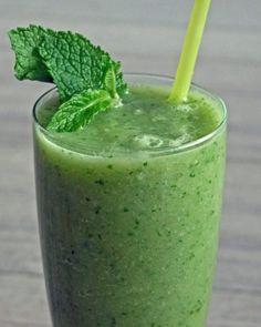 Groene smoothie rucola avocado - Afvallen met lekkere recepten