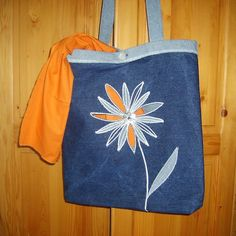 taška s kopretinou Reusable Tote Bags, Fashion, Moda, Fashion Styles, Fasion
