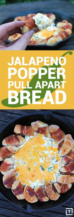 Serve Up This Cheesy Jalapeño Popper Pull-Apart Bread