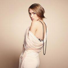 Fashion photo of young beautiful woman by Oleg Gekman