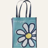 Large Recycled Shopper Tote #LifeisgoodWishList