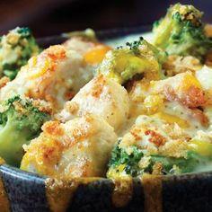 Divan de poulet et de brocoli facile à faire