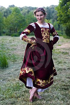 Image detail for -Royalty Free Stock Images: Italian renaissance dress. Image: 3246759