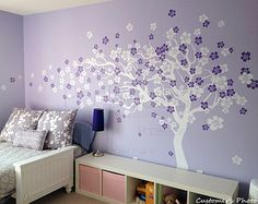 Wall decal tree children baby decal girl's room decal by PopDecors