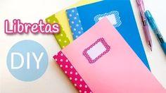 como hacer cuadernos reciclados - YouTube