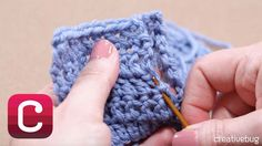 "Learn crochet seaming or the ""mattress stitch"" from expert Edie Eckman."