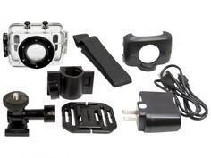 Filmadora Vivitar DVR785HD HD Esportiva 5MP - Conexão Mini USB com Caixa Estanque com as melhores condições você encontra no Magazine Edmilson07. Confira!