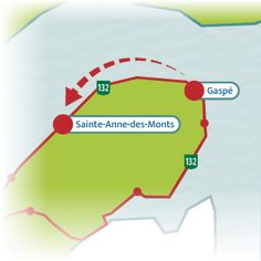 The Bas-Saint-Laurent – Gaspésie Tour is a legendary scenic drive that loops around the huge Gaspé Peninsula. Take a look at the itinerary suggested. Quebec, Bas Saint Laurent, Road Trip, Journey, Tours, Places, Quebec City, Road Trips, The Journey