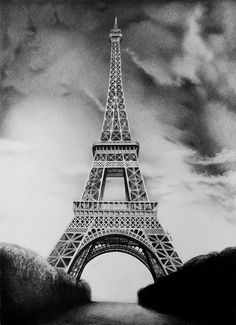 eiffel tower drawing and sketches (25)
