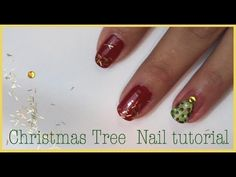 """Christmas tree nail art Tutorial from @bellamishella is our """"#MomTV Picks"""" video today!"""