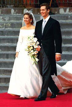 H.R.H. Infanta Cristina of Spain, Duchess of Palma, and Iñaki Urdangarin Liebaert, later Duke of Palma, Wedding (1997)