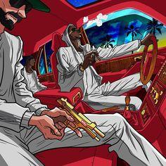 "Stream Don Phenom CFE x Vinz x Capital T - "" Gangsta Mode "" Hard Piano Trap beat by Young Grape Beatz from desktop or your mobile device Arte Do Hip Hop, Hip Hop Art, Dope Cartoons, Dope Cartoon Art, Arte Dope, Dope Art, Character Art, Character Design, Trill Art"