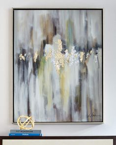 """Behind the Veil"" Original Framed Wall Canvas Painting John-Richard Collection Gold Leaf Art, Silver Leaf Painting, Textured Painting, Painting Inspiration, Canvas Wall Art, Art Decor, Original Paintings, Art Paintings, Colorful Paintings"
