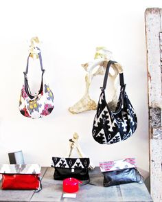 Bad to the bone bags and clutches.