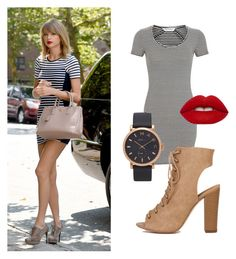 """""""Taylor style"""" by pomagd on Polyvore featuring Prada, Miss Selfridge, Marc Jacobs and Lime Crime"""
