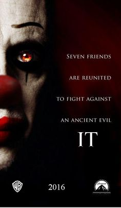 Update on Stephen Kings IT for 2016 http://bloody-disgusting.com/news/3338085/it-clown-pennywise-will-terrorize-new-york-june/