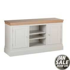 Lundy Painted 2 Door TV Cabinet