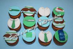 #Cupcakes festa del papà #Father's day cupcakes #cupcakes dentista #Dentist cupcakes