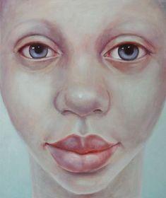 LOOK AT ME III, 2010 - oil on canvas, 50x60cm - Geeske Harting - #dutch #art…
