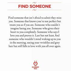 That someone