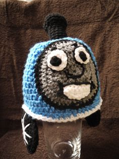 Thomas The Train by One Knotty Mama. Find it on Facebook at facebook.com/jesslasher