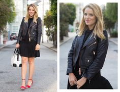 How To Style Your Favorite Leather Jacket - Julia from Gal Meets Glam
