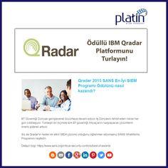 #IBM #Qradar #SANS #PlatinBilisim