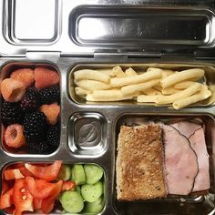 Who else is still making these Only three weeks to go here Then camp lunches for a little bit but only for the little one since the big is going to SLEEP AWAY CAMP for the first time But today I get to feed him ham sandwich cucumbers peppers white raspberries blackberries cinnamon apple sticks from traderjoes the boys are obsessed
