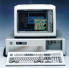 IBM 5170 PC/AT (1984).