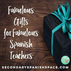 Fabulous Holiday, Christmas Gifts for Fabulous Spanish Teachers | Secondary Spanish Space