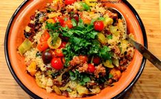 A lovely quinoa dish from FlavorN'Spice! #recipe