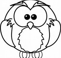 Image result for Owl Outline Printable