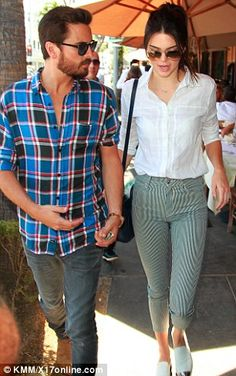Kendall Jenner and Scott Disick dine together in Beverly Hills #dailymail