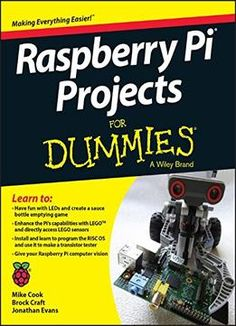 Raspberry Pi Projects For Dummies PDF