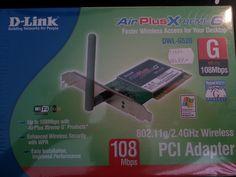 Trådlöst för stationära datorn? Fynda mitt oanvända nätverkskort på Tradera! http://goo.gl/Annmuw #Tradera #begagnat #secondhand #andrahand #elektronik