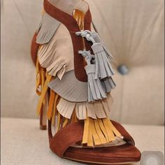ZARA MULTICOLOR LEATHER FRINGE HEEL SANDAL SIZE 6 NWT. BRAND NEW. SIZE 6. ALL PRICES IN MY CLOSET ARE NEGOTIABLE. ALL REASONABLE OFFERS CONSIDERED. Zara Shoes Heels