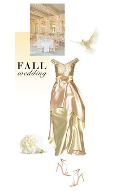 """Fall Wedding"" by drn57 ❤ liked on Polyvore featuring Reception, Gianvito Rossi and fallwedding"