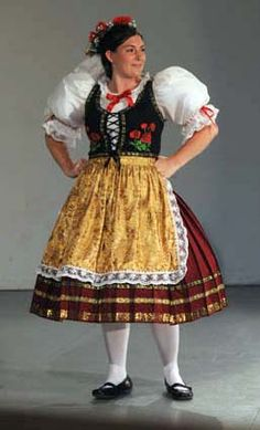 I wore an outfit like this many times Czech dancing. Costumes Around The World, Folk Costume, My Heritage, Girl Doll Clothes, Europe, Historical Clothing, Beautiful Patterns, Czech Republic, Traditional Dresses