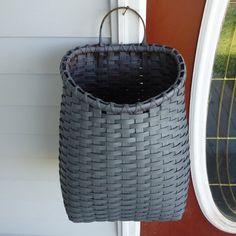 Basket by door on deck