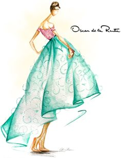 Oscar de la Renta S/S 2013, by Claire-Thompson