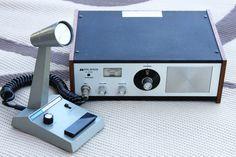 Vintage 1970s Midland 13-879B Base CB Radio by RiverRatAntiques