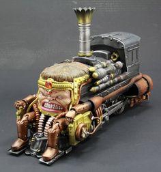 Steampunk M.O.D.O.K. figure